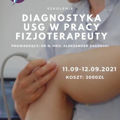 Diagnostyka USG w pracy fizjoterapeuty – Kończyna dolna